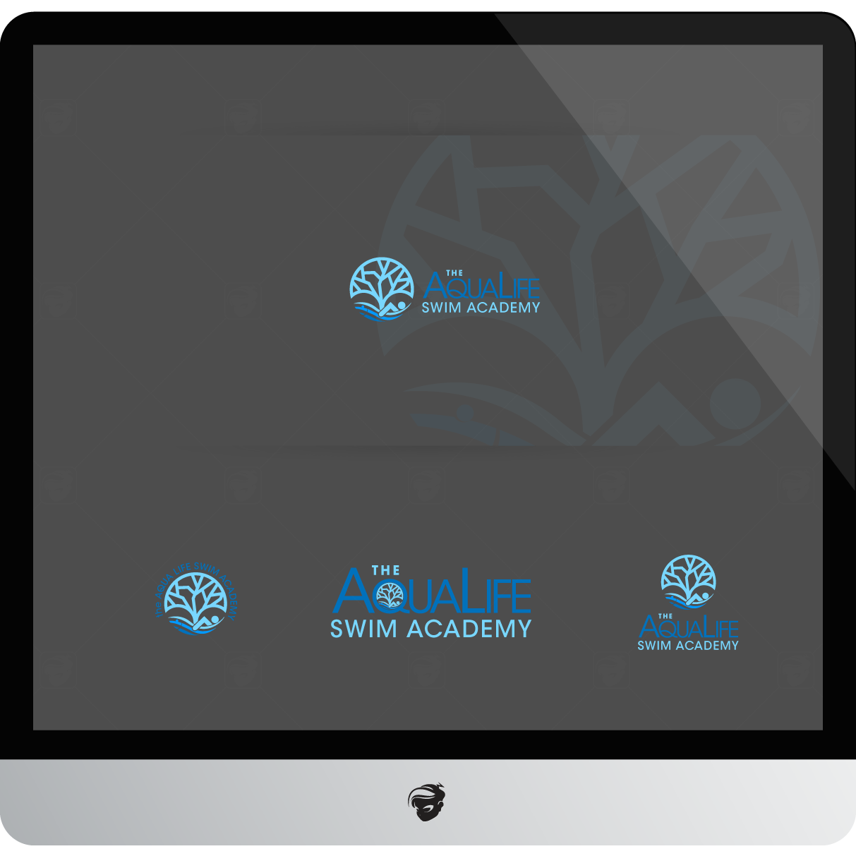 Logo Design by zesthar - Entry No. 110 in the Logo Design Contest Artistic Logo Design Wanted for The Aqua Life Swim Academy.