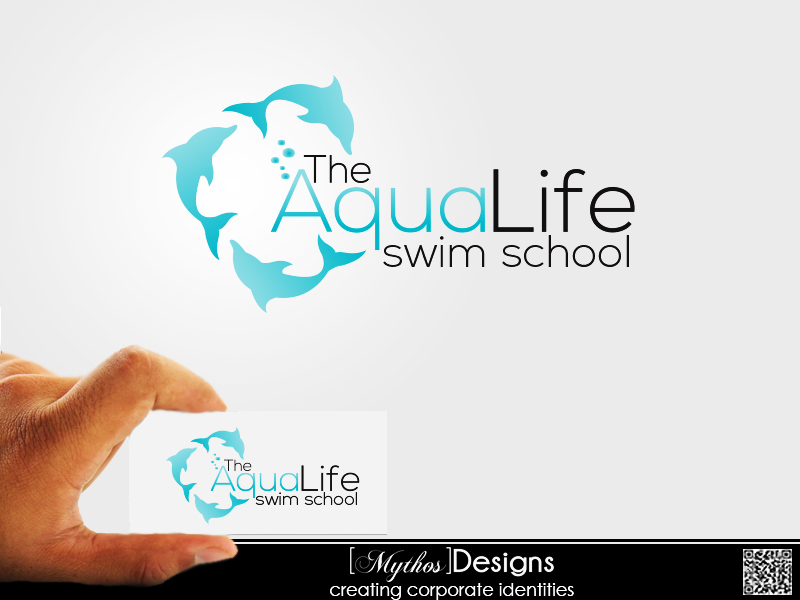 Logo Design by Mythos Designs - Entry No. 112 in the Logo Design Contest Artistic Logo Design Wanted for The Aqua Life Swim Academy.