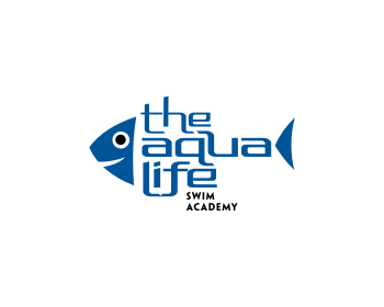 Logo Design by Rudy - Entry No. 118 in the Logo Design Contest Artistic Logo Design Wanted for The Aqua Life Swim Academy.