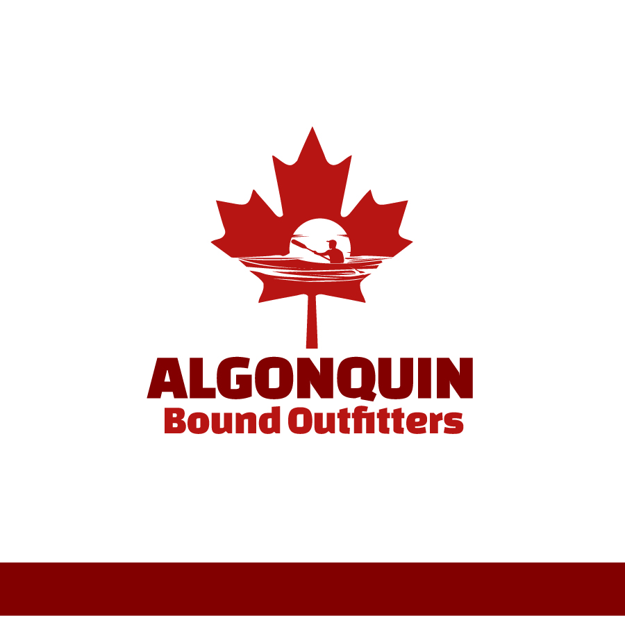 Logo Design by Edward Goodwin - Entry No. 81 in the Logo Design Contest Captivating Logo Design for Algonquin Bound Outfitters.
