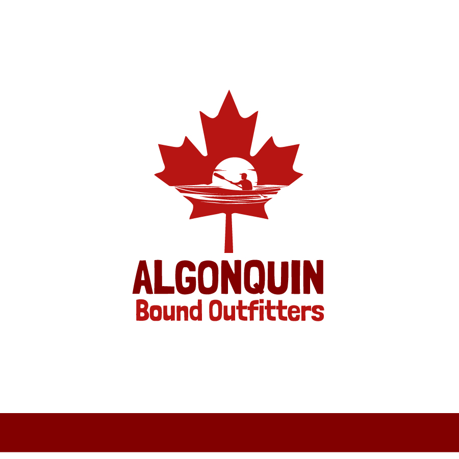 Logo Design by Edward Goodwin - Entry No. 82 in the Logo Design Contest Captivating Logo Design for Algonquin Bound Outfitters.