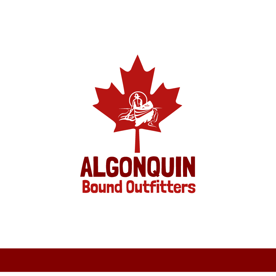Logo Design by Edward Goodwin - Entry No. 84 in the Logo Design Contest Captivating Logo Design for Algonquin Bound Outfitters.