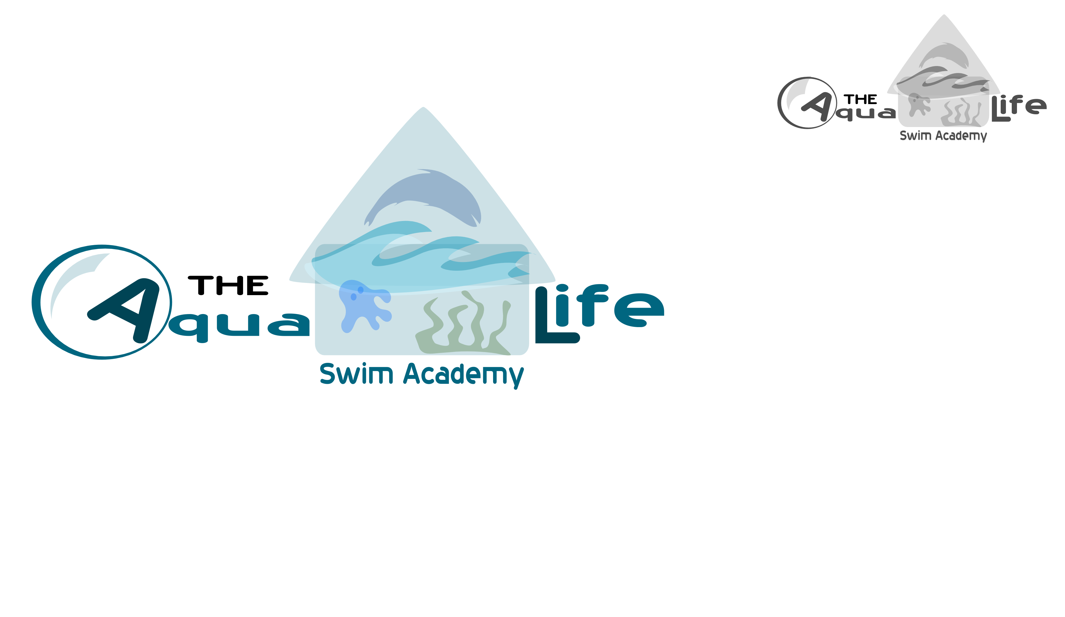 Logo Design by Arindam Khanda - Entry No. 123 in the Logo Design Contest Artistic Logo Design Wanted for The Aqua Life Swim Academy.