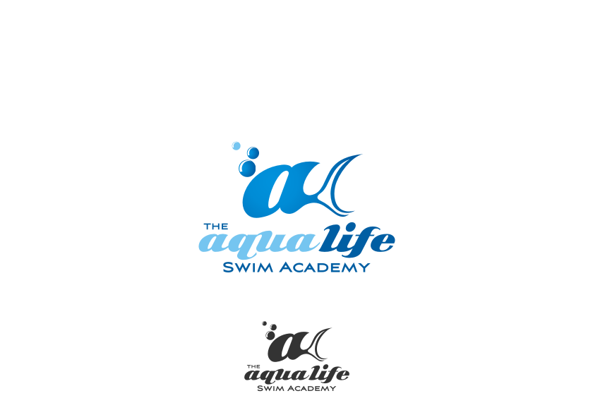 Logo Design by graphicleaf - Entry No. 124 in the Logo Design Contest Artistic Logo Design Wanted for The Aqua Life Swim Academy.