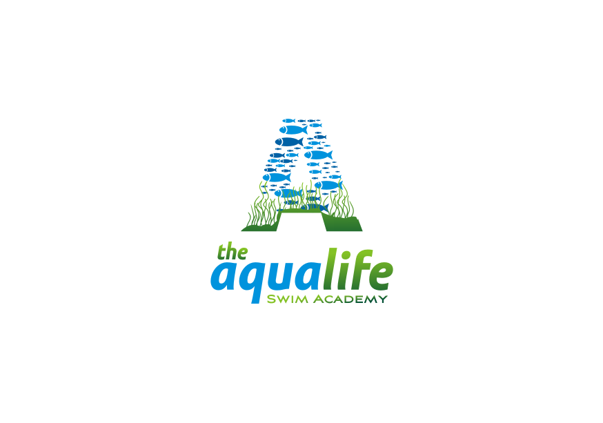 Logo Design by graphicleaf - Entry No. 125 in the Logo Design Contest Artistic Logo Design Wanted for The Aqua Life Swim Academy.