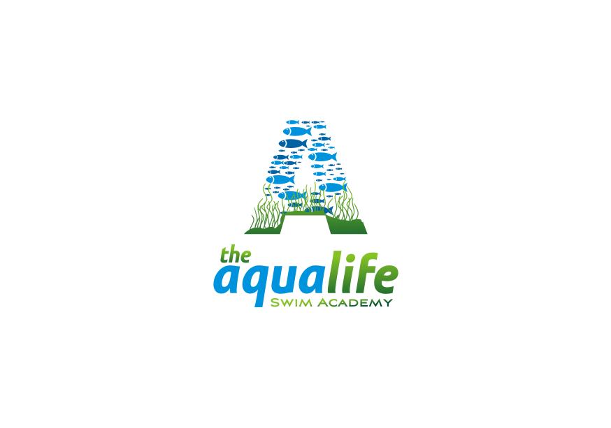 Logo Design by Muhammad Nasrul chasib - Entry No. 125 in the Logo Design Contest Artistic Logo Design Wanted for The Aqua Life Swim Academy.