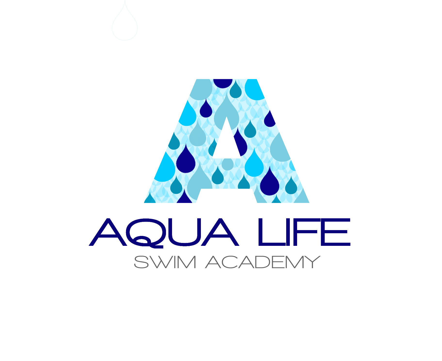 Logo Design by Lama Creative - Entry No. 130 in the Logo Design Contest Artistic Logo Design Wanted for The Aqua Life Swim Academy.