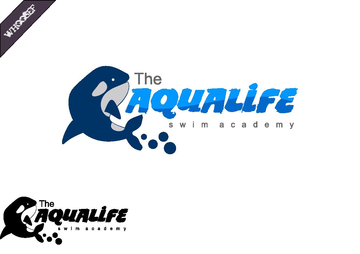 Logo Design by whoosef - Entry No. 132 in the Logo Design Contest Artistic Logo Design Wanted for The Aqua Life Swim Academy.