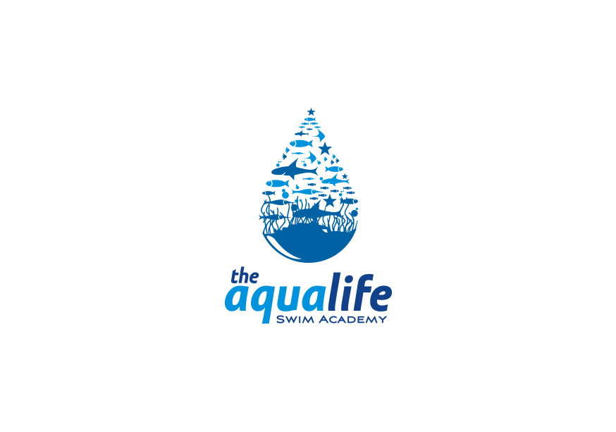 Logo Design by Muhammad Nasrul chasib - Entry No. 135 in the Logo Design Contest Artistic Logo Design Wanted for The Aqua Life Swim Academy.