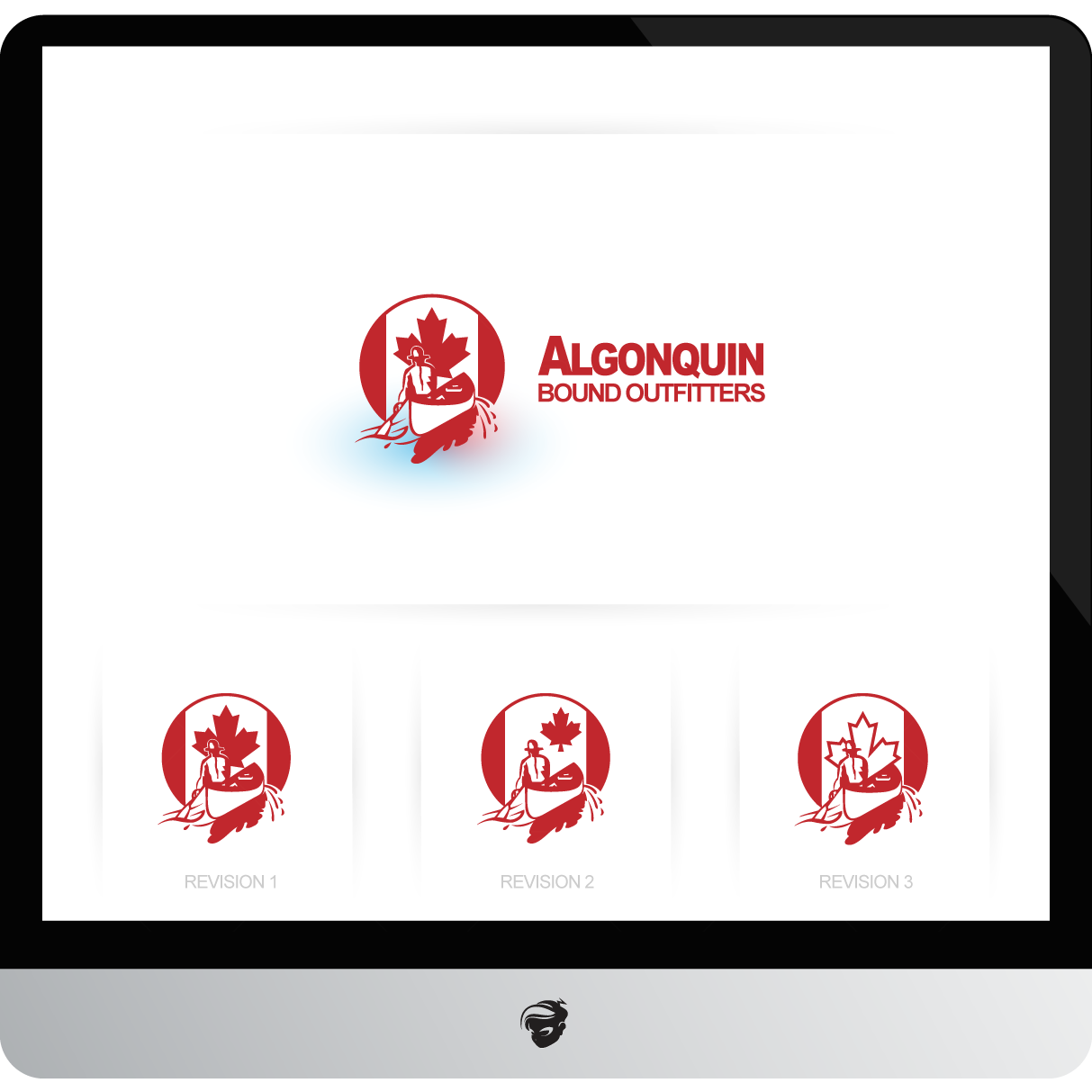 Logo Design by zesthar - Entry No. 93 in the Logo Design Contest Captivating Logo Design for Algonquin Bound Outfitters.