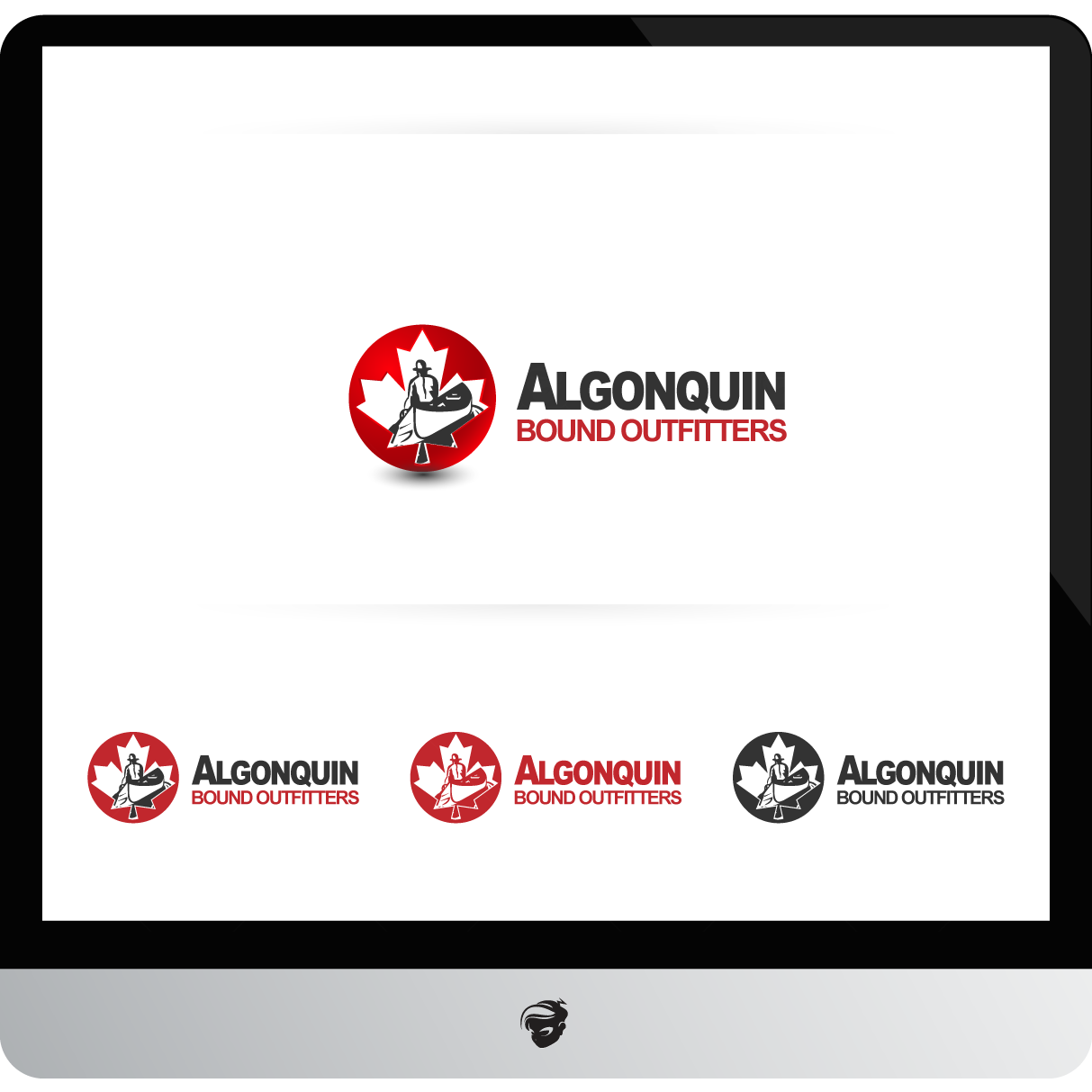 Logo Design by zesthar - Entry No. 94 in the Logo Design Contest Captivating Logo Design for Algonquin Bound Outfitters.