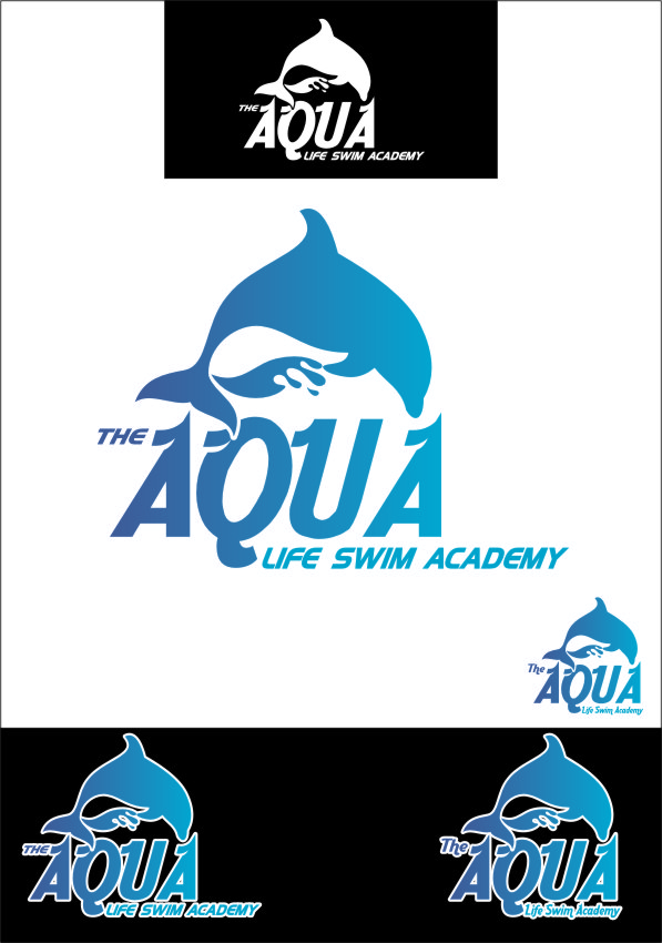 Logo Design by RasYa Muhammad Athaya - Entry No. 136 in the Logo Design Contest Artistic Logo Design Wanted for The Aqua Life Swim Academy.