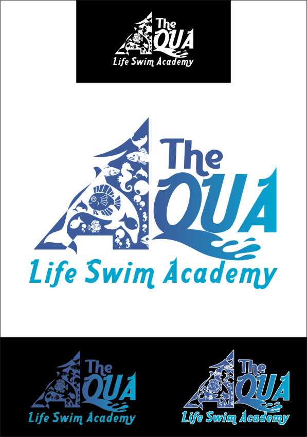 Logo Design by Ngepet_art - Entry No. 138 in the Logo Design Contest Artistic Logo Design Wanted for The Aqua Life Swim Academy.