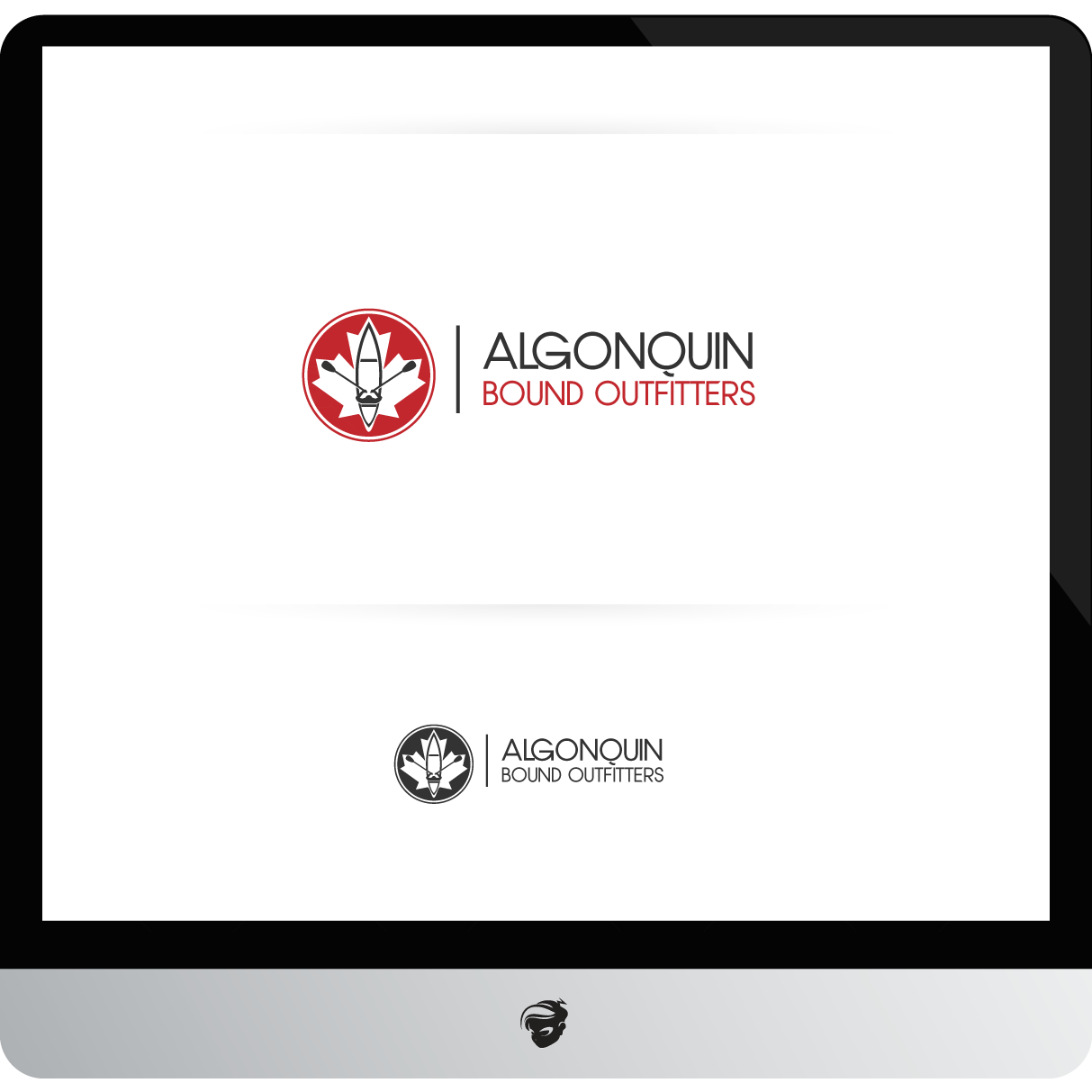 Logo Design by zesthar - Entry No. 96 in the Logo Design Contest Captivating Logo Design for Algonquin Bound Outfitters.