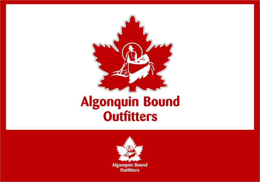 Logo Design by RasYa Muhammad Athaya - Entry No. 100 in the Logo Design Contest Captivating Logo Design for Algonquin Bound Outfitters.