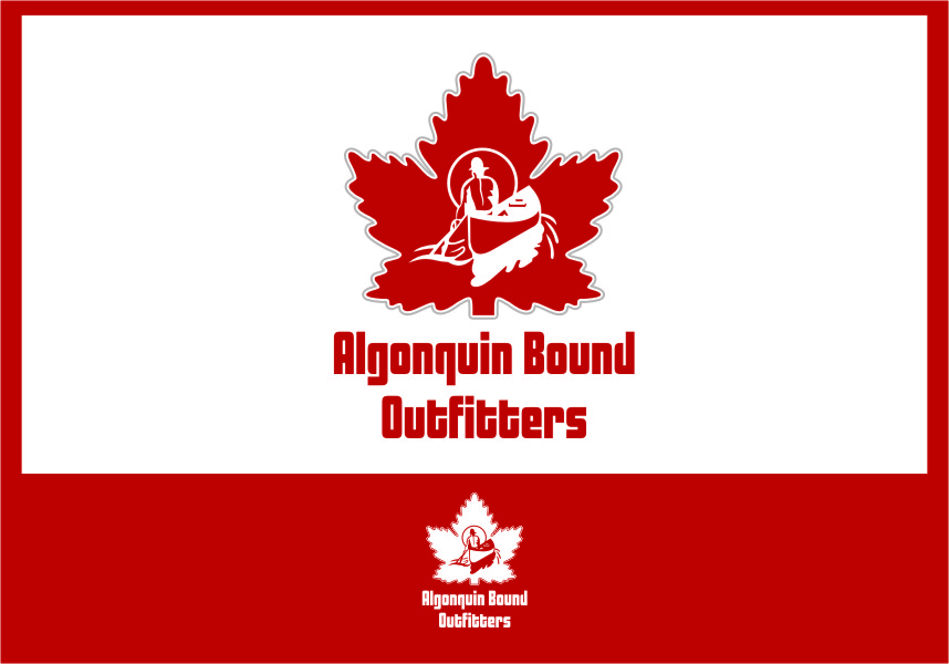 Logo Design by RasYa Muhammad Athaya - Entry No. 101 in the Logo Design Contest Captivating Logo Design for Algonquin Bound Outfitters.
