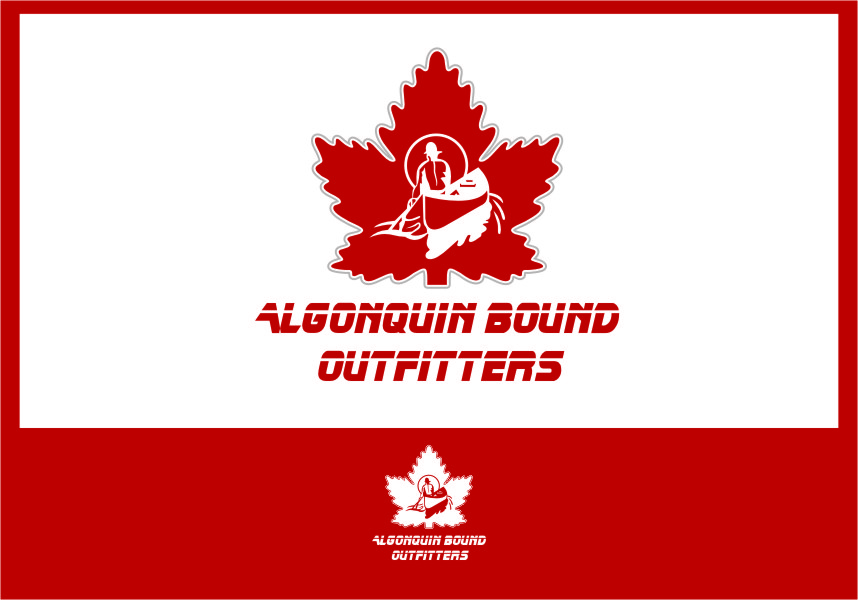 Logo Design by RasYa Muhammad Athaya - Entry No. 102 in the Logo Design Contest Captivating Logo Design for Algonquin Bound Outfitters.