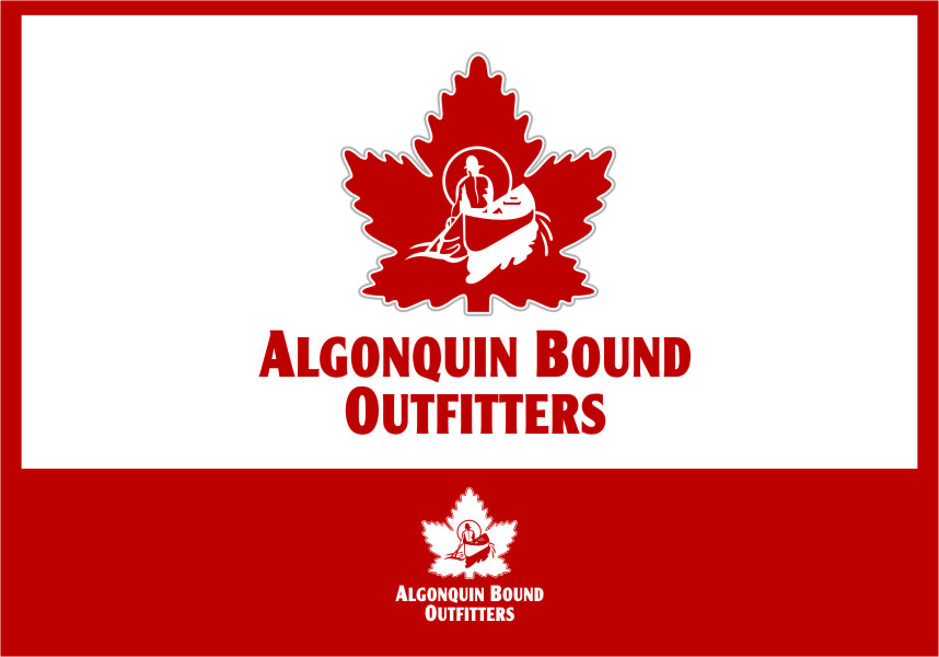Logo Design by Ngepet_art - Entry No. 104 in the Logo Design Contest Captivating Logo Design for Algonquin Bound Outfitters.