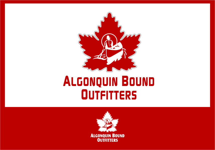 Logo Design by RasYa Muhammad Athaya - Entry No. 105 in the Logo Design Contest Captivating Logo Design for Algonquin Bound Outfitters.