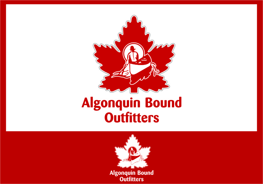 Logo Design by Ngepet_art - Entry No. 106 in the Logo Design Contest Captivating Logo Design for Algonquin Bound Outfitters.