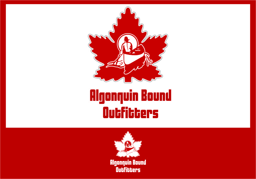 Logo Design by Ngepet_art - Entry No. 107 in the Logo Design Contest Captivating Logo Design for Algonquin Bound Outfitters.