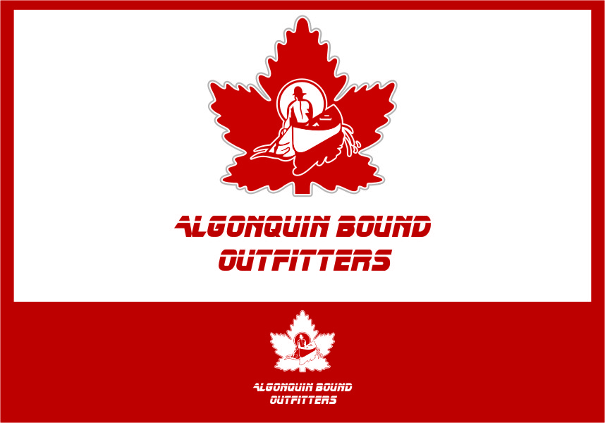 Logo Design by Ngepet_art - Entry No. 108 in the Logo Design Contest Captivating Logo Design for Algonquin Bound Outfitters.