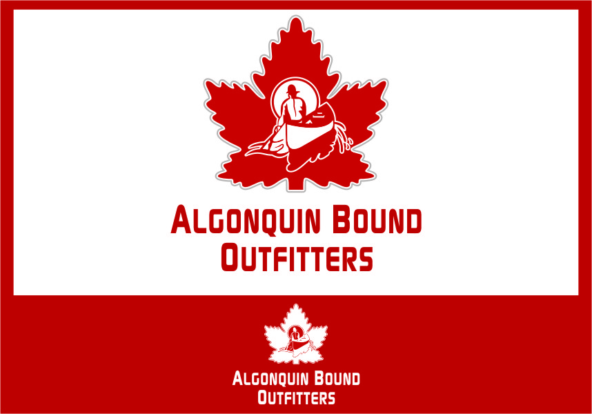 Logo Design by Ngepet_art - Entry No. 110 in the Logo Design Contest Captivating Logo Design for Algonquin Bound Outfitters.