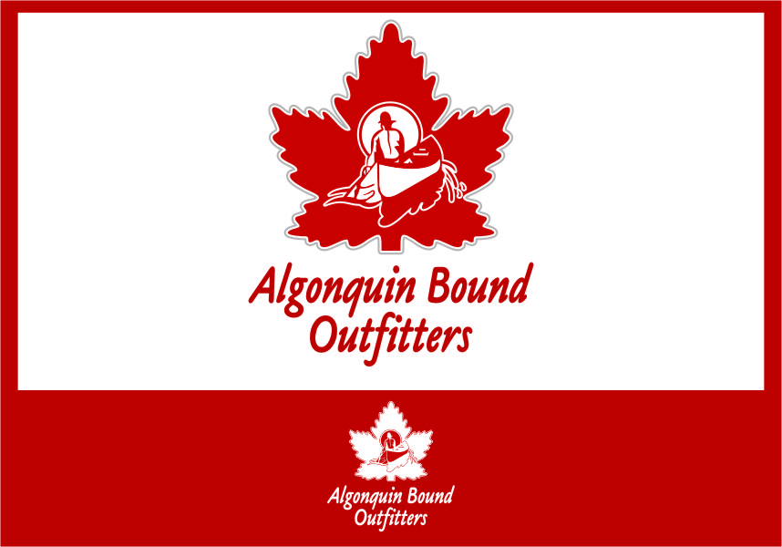 Logo Design by Ngepet_art - Entry No. 111 in the Logo Design Contest Captivating Logo Design for Algonquin Bound Outfitters.