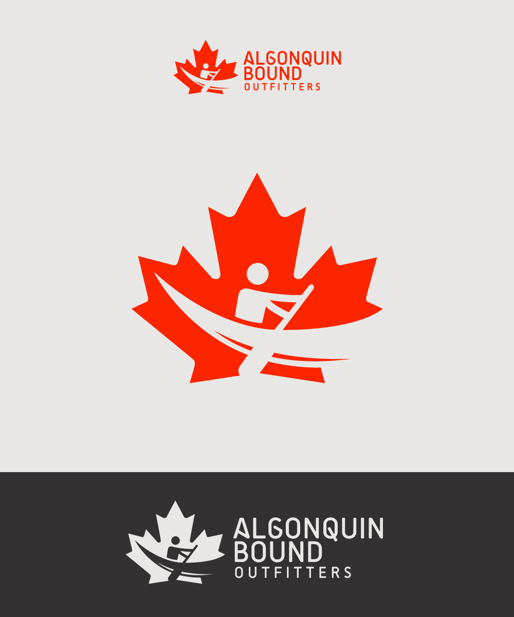 Logo Design by Mathias Frisa - Entry No. 113 in the Logo Design Contest Captivating Logo Design for Algonquin Bound Outfitters.