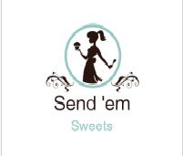 Logo Design by Muhammad Qasim Kasi - Entry No. 6 in the Logo Design Contest Creative Logo Design for Send 'em Sweets.