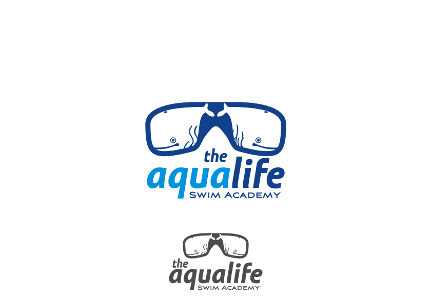 Logo Design by graphicleaf - Entry No. 150 in the Logo Design Contest Artistic Logo Design Wanted for The Aqua Life Swim Academy.