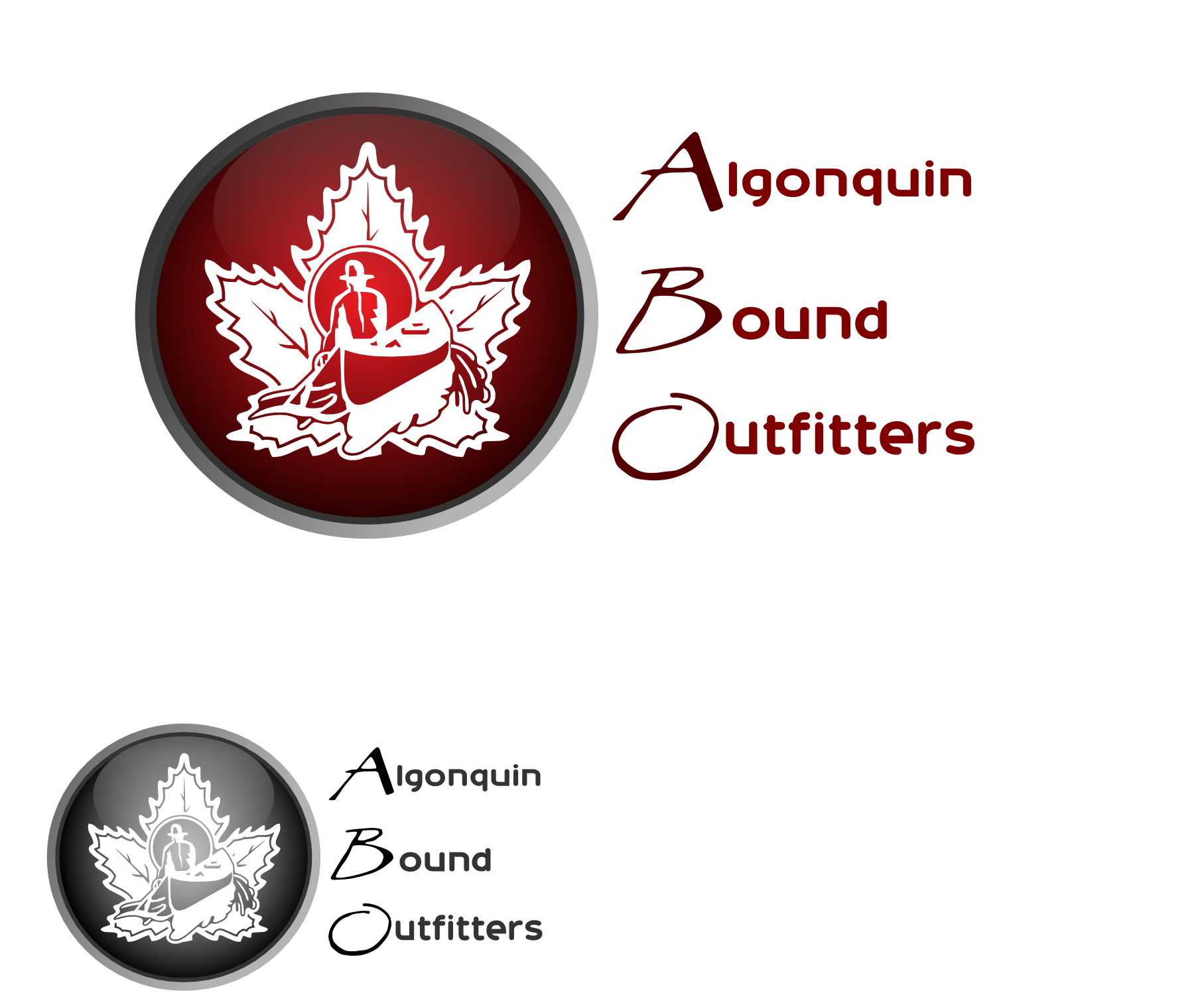 Logo Design by Arindam Khanda - Entry No. 119 in the Logo Design Contest Captivating Logo Design for Algonquin Bound Outfitters.
