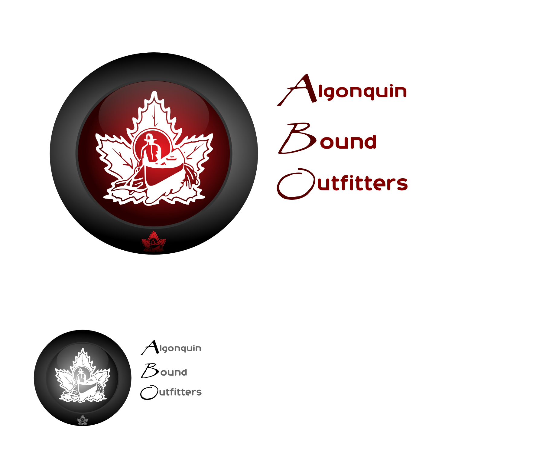 Logo Design by Arindam Khanda - Entry No. 120 in the Logo Design Contest Captivating Logo Design for Algonquin Bound Outfitters.