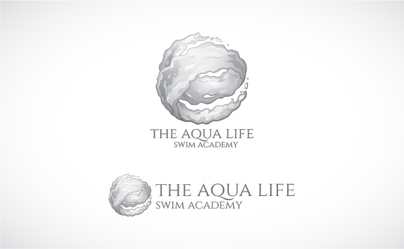 Logo Design by Shahriar Zaman - Entry No. 153 in the Logo Design Contest Artistic Logo Design Wanted for The Aqua Life Swim Academy.