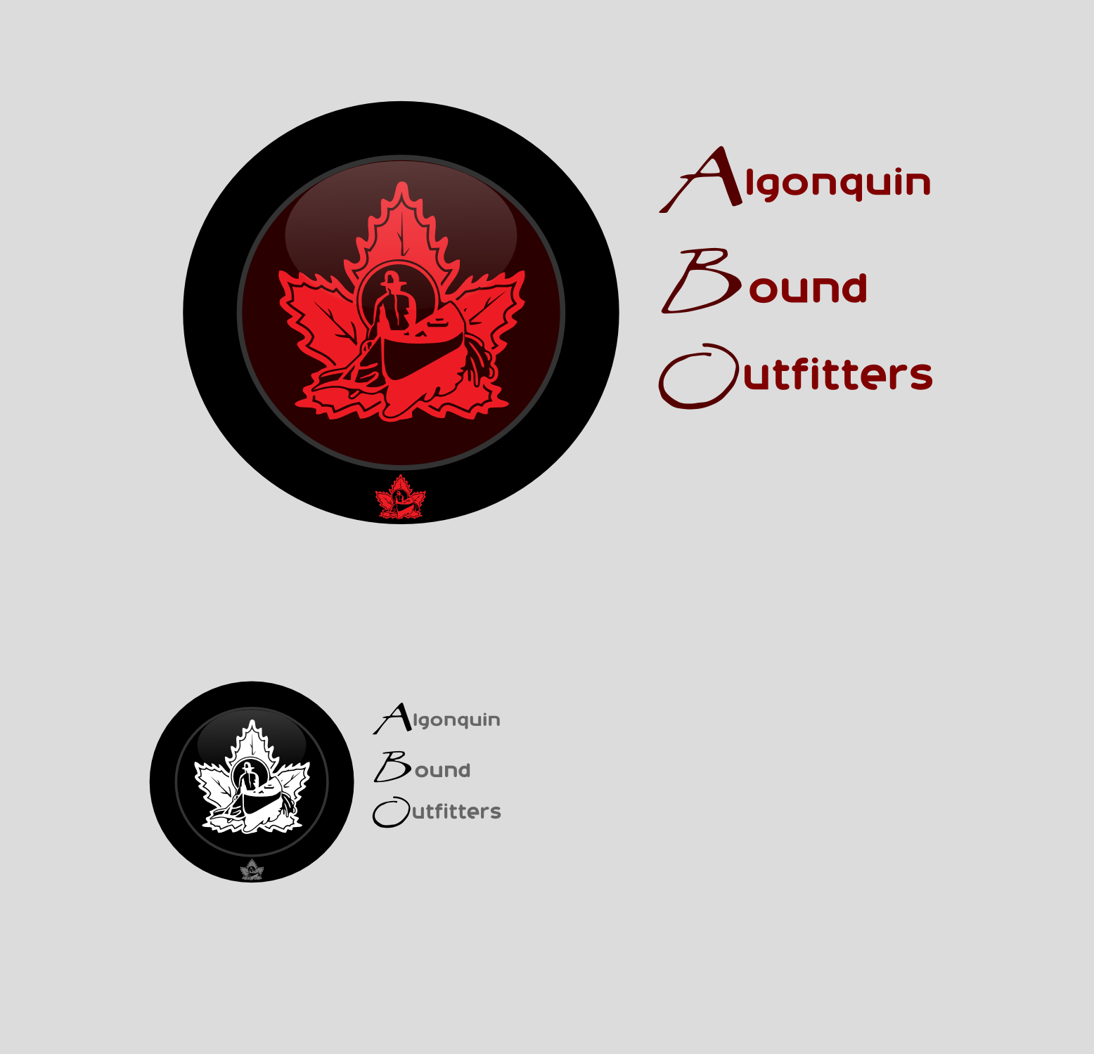 Logo Design by Arindam Khanda - Entry No. 126 in the Logo Design Contest Captivating Logo Design for Algonquin Bound Outfitters.