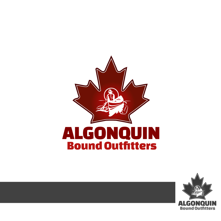 Logo Design by Edward Goodwin - Entry No. 130 in the Logo Design Contest Captivating Logo Design for Algonquin Bound Outfitters.