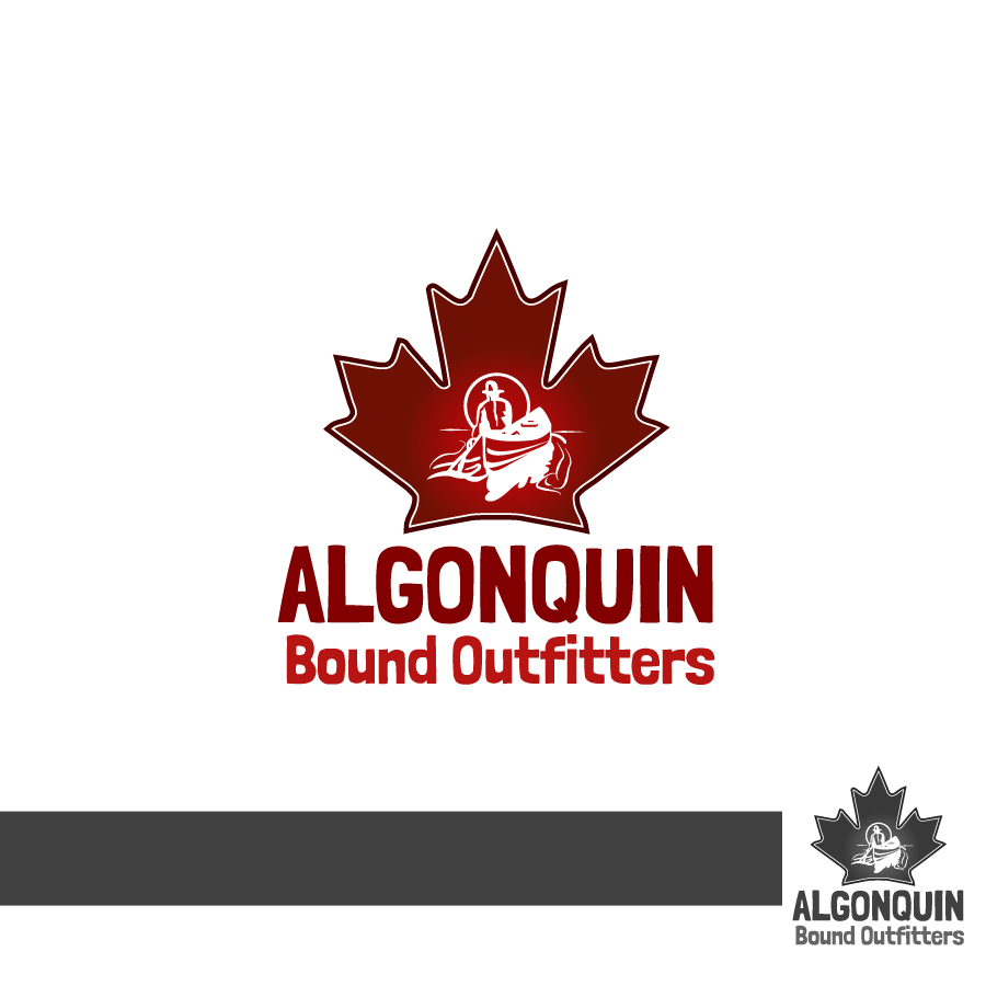 Logo Design by Edward Goodwin - Entry No. 131 in the Logo Design Contest Captivating Logo Design for Algonquin Bound Outfitters.