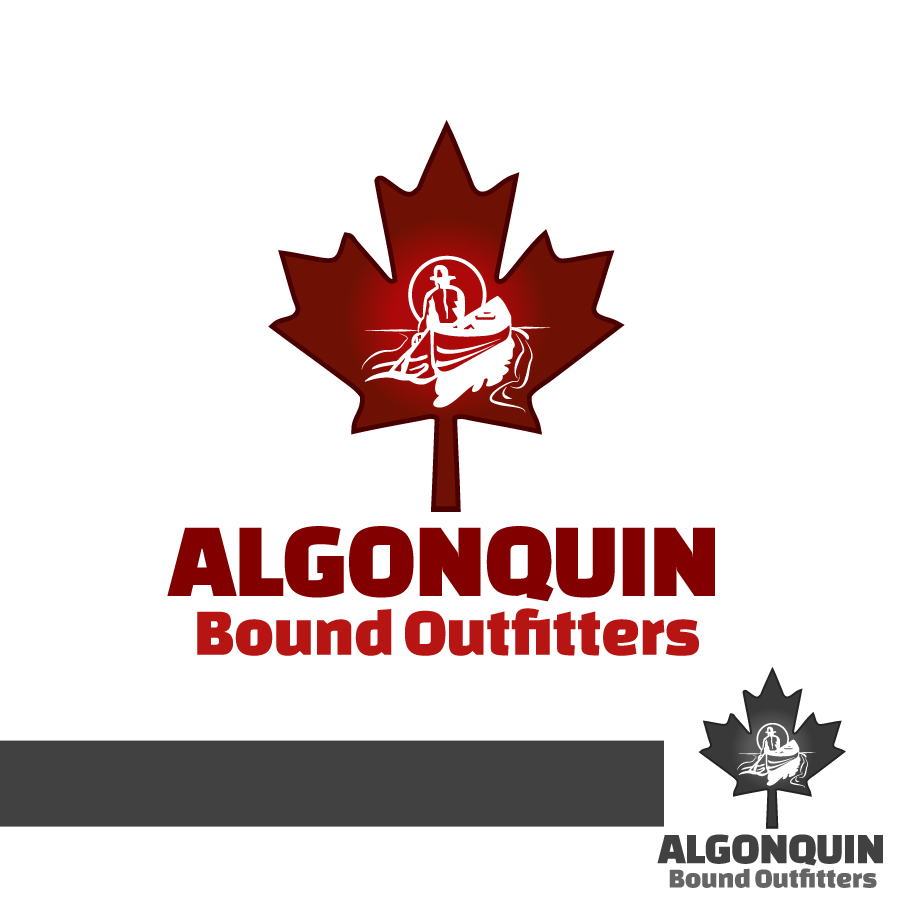 Logo Design by Edward Goodwin - Entry No. 132 in the Logo Design Contest Captivating Logo Design for Algonquin Bound Outfitters.