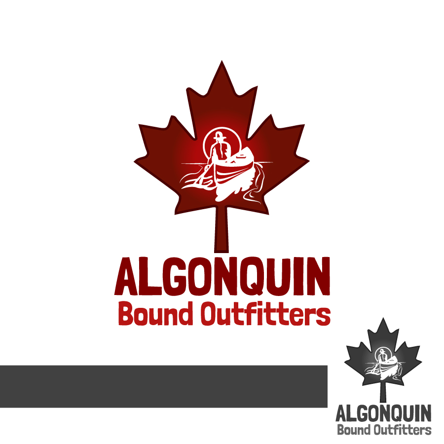 Logo Design by Edward Goodwin - Entry No. 133 in the Logo Design Contest Captivating Logo Design for Algonquin Bound Outfitters.