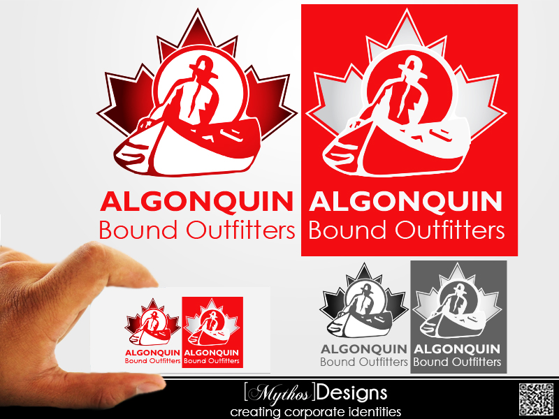 Logo Design by Mythos Designs - Entry No. 140 in the Logo Design Contest Captivating Logo Design for Algonquin Bound Outfitters.