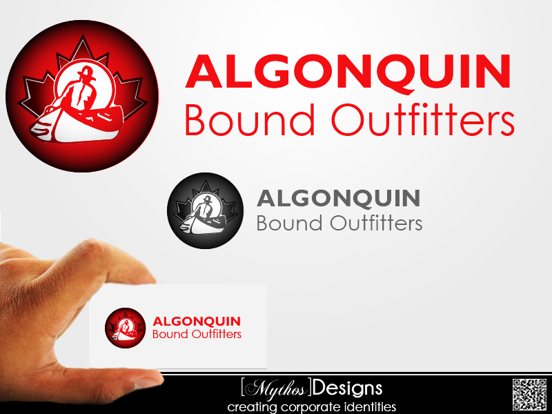 Logo Design by Mythos Designs - Entry No. 141 in the Logo Design Contest Captivating Logo Design for Algonquin Bound Outfitters.