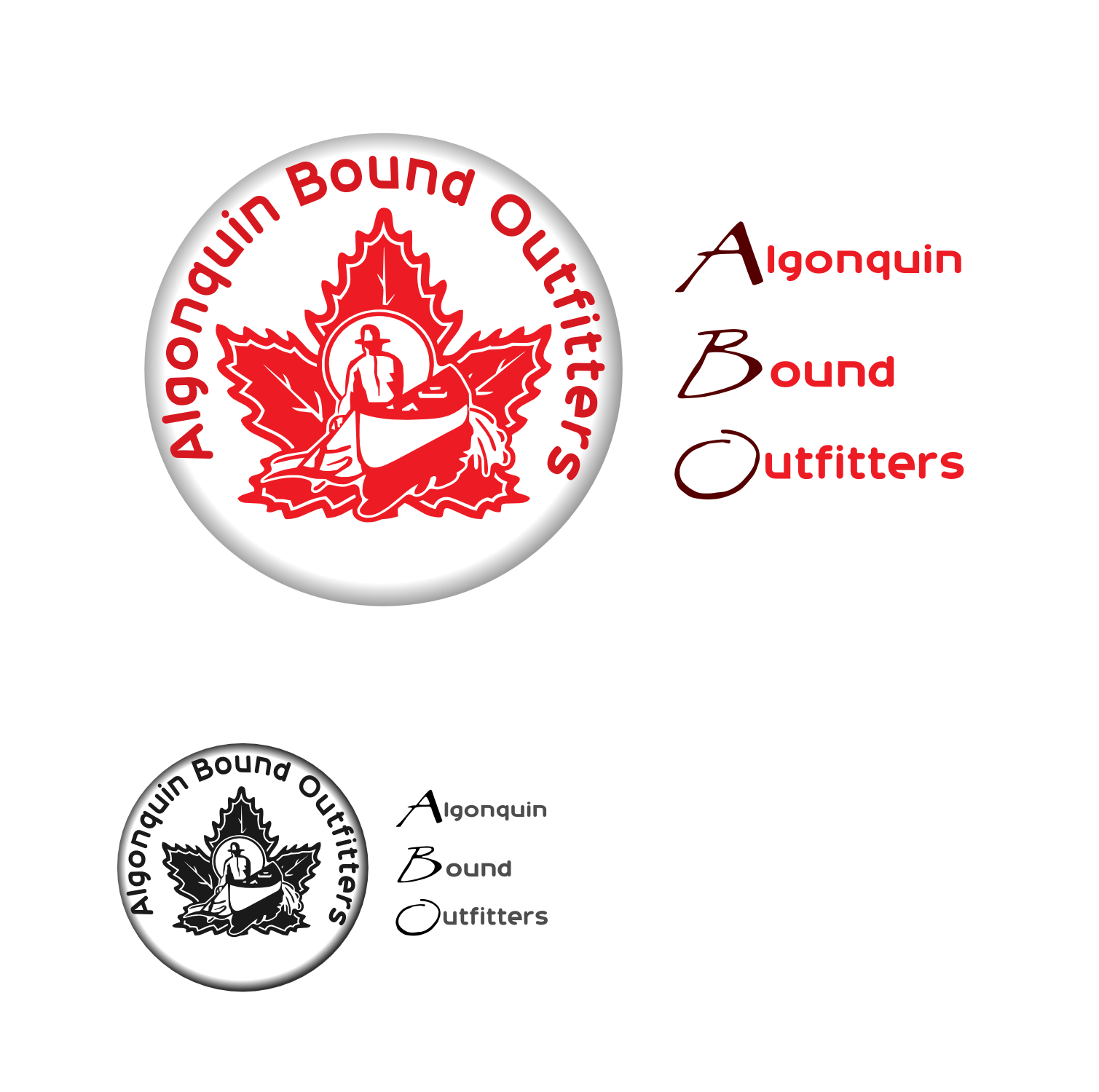 Logo Design by Arindam Khanda - Entry No. 143 in the Logo Design Contest Captivating Logo Design for Algonquin Bound Outfitters.