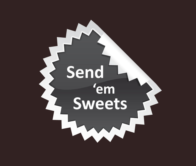 Logo Design by Vasil Boyadzhiev - Entry No. 23 in the Logo Design Contest Creative Logo Design for Send 'em Sweets.
