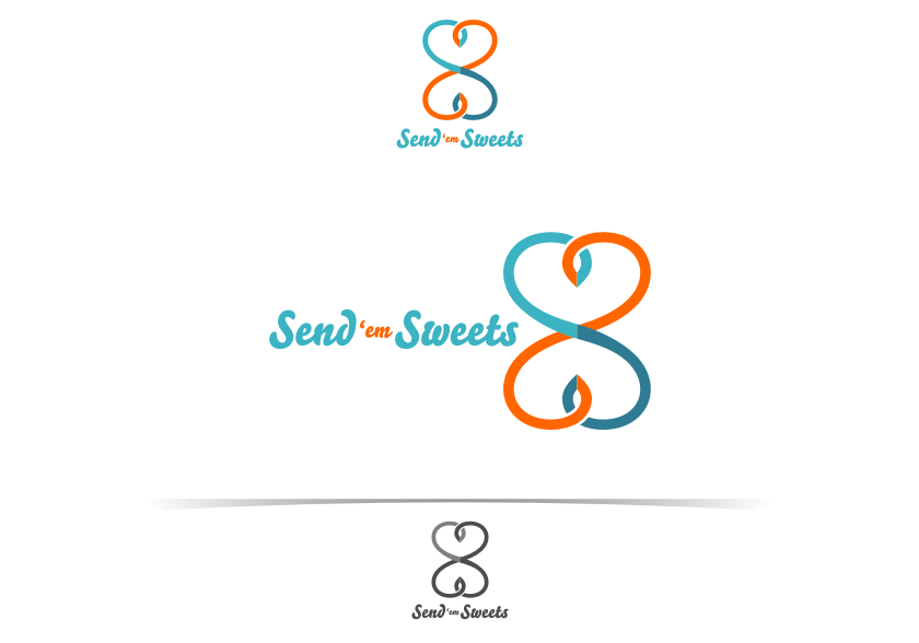 Logo Design by graphicleaf - Entry No. 24 in the Logo Design Contest Creative Logo Design for Send 'em Sweets.