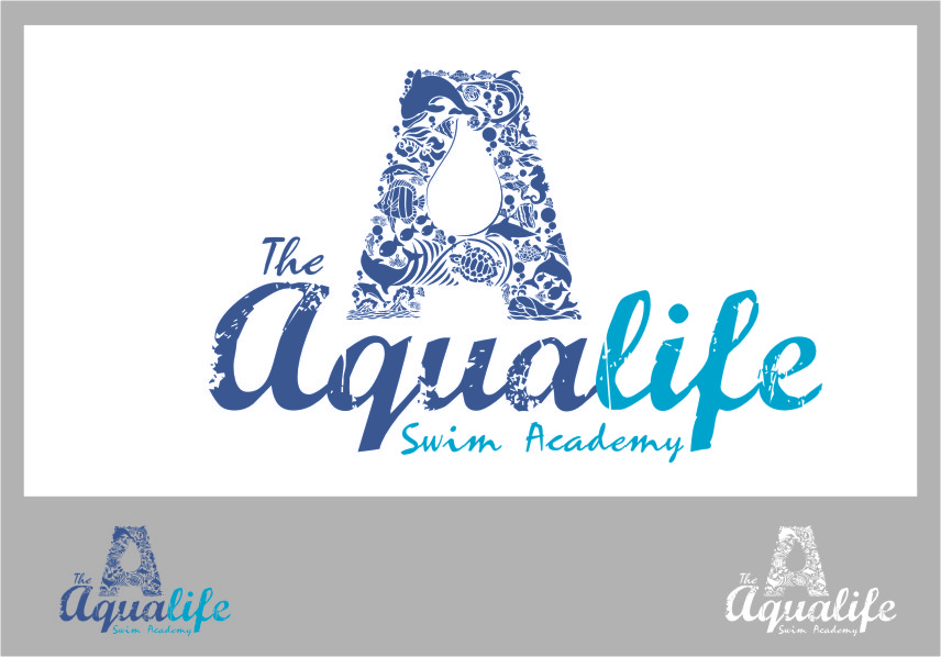 Logo Design by RasYa Muhammad Athaya - Entry No. 161 in the Logo Design Contest Artistic Logo Design Wanted for The Aqua Life Swim Academy.