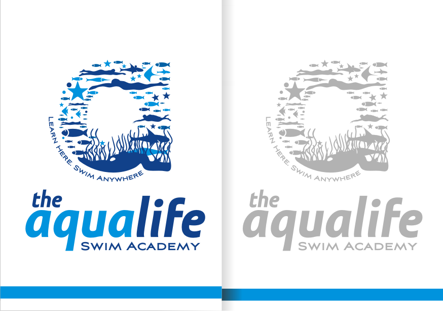 Logo Design by graphicleaf - Entry No. 167 in the Logo Design Contest Artistic Logo Design Wanted for The Aqua Life Swim Academy.