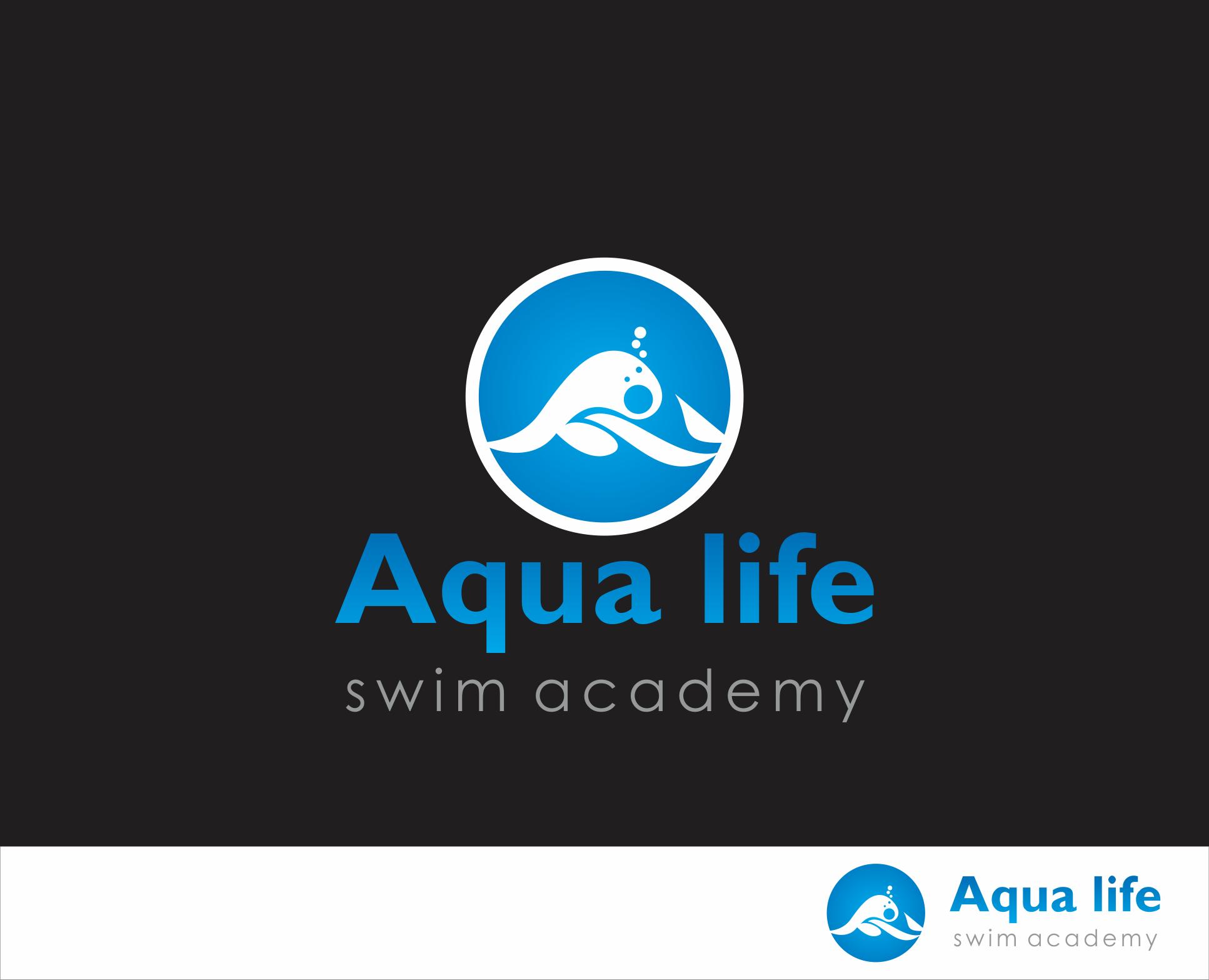 Logo Design by Armada Jamaluddin - Entry No. 168 in the Logo Design Contest Artistic Logo Design Wanted for The Aqua Life Swim Academy.