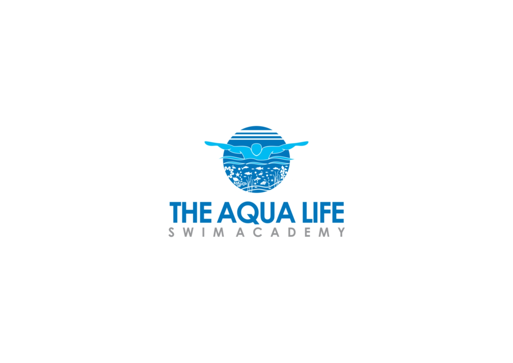Logo Design by Private User - Entry No. 170 in the Logo Design Contest Artistic Logo Design Wanted for The Aqua Life Swim Academy.