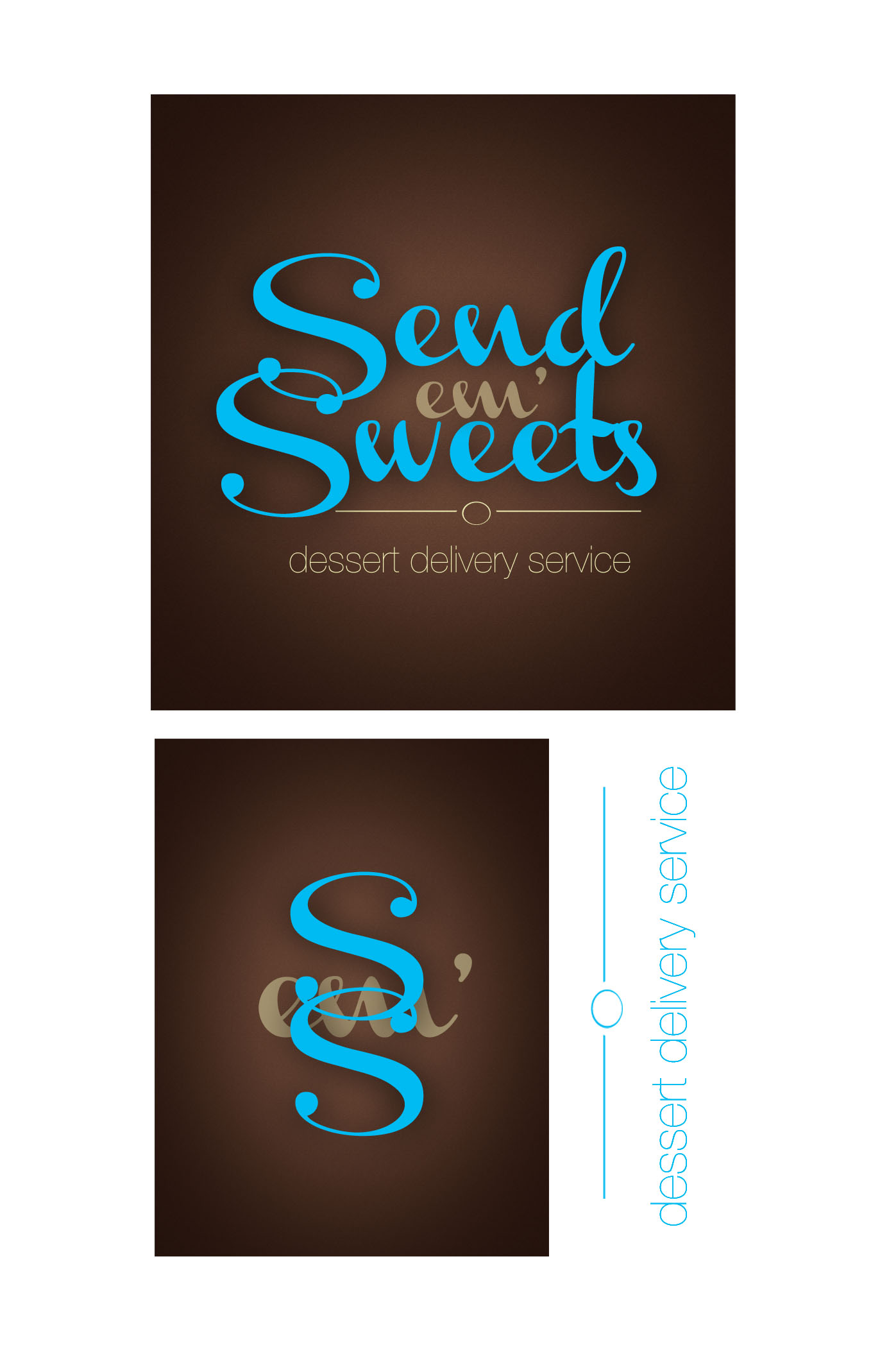 Logo Design by Lama Creative - Entry No. 27 in the Logo Design Contest Creative Logo Design for Send 'em Sweets.