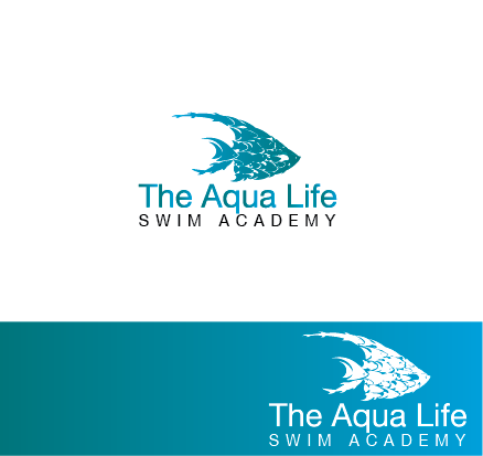 Logo Design by Digital Designs - Entry No. 171 in the Logo Design Contest Artistic Logo Design Wanted for The Aqua Life Swim Academy.
